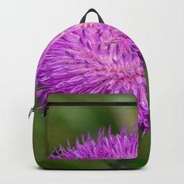 Nodding Thistle Close-Up Backpack