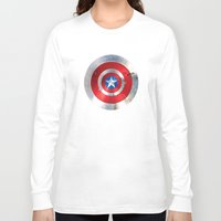 targaryen Long Sleeve T-shirts featuring SHIELD by Smart Friend