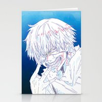 tokyo ghoul Stationery Cards featuring Tokyo Ghoul  by Neo Crystal Tokyo