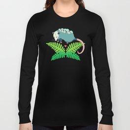 Opossum + Ferns Long Sleeve T-shirt
