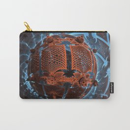 Fractal Art - Wooden World Carry-All Pouch