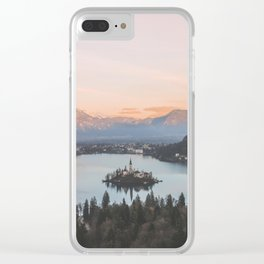 Lake Bled, Slovenia Clear iPhone Case