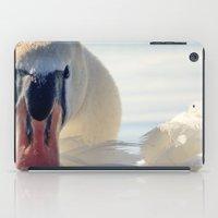 swan iPad Cases featuring Swan by Enkel Dika