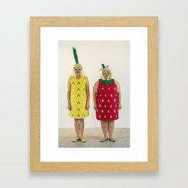 Fruity Booty Framed Art Print
