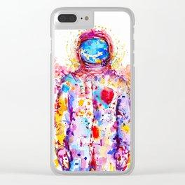 Psychopath Clear iPhone Case