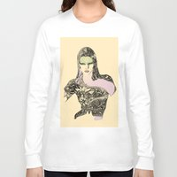 megan lara Long Sleeve T-shirts featuring Lara by hyperpattern