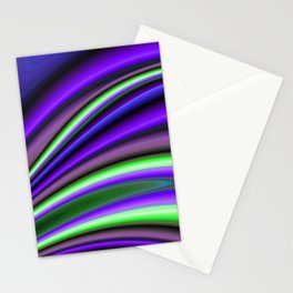 Abstract Fractal Colorways 01PL Stationery Cards