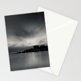 Sunset over Porto. Foz do Douro, Porto, Portugal. Stationery Cards