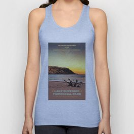 Lake Superior Provincial Park Unisex Tank Top