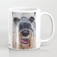 schnauzer Mugs featuring Schnauzer by Doggyshop