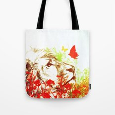 Beast and the Butterflies II Tote Bag
