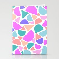 icecream Stationery Cards featuring ICECREAM by Isabella Salamone