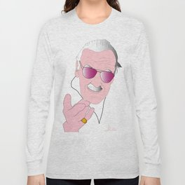 Stan Lee Tribute Long Sleeve T-shirt