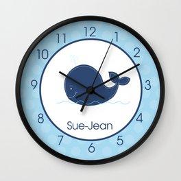 Whale Clock Sue-Jean Wall Clock