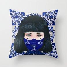 Tiles I Throw Pillow