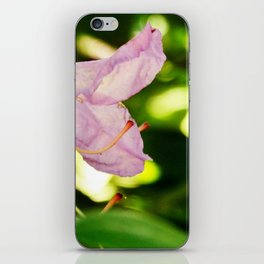 Pink bells iPhone Skin