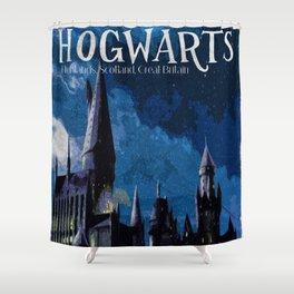 The best wizarding school Shower Curtain