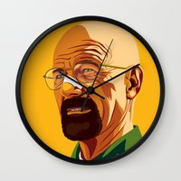 heisenberg Wall Clocks featuring Heisenberg by Stan Pro