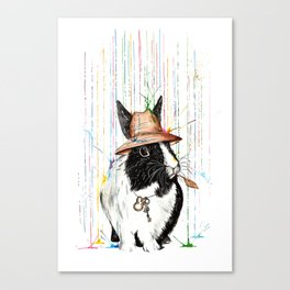 Oh Bunny Canvas Print