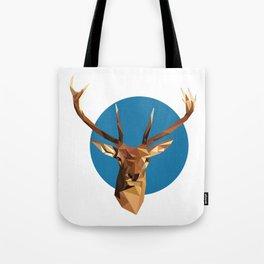 oh deer, triangles. Tote Bag