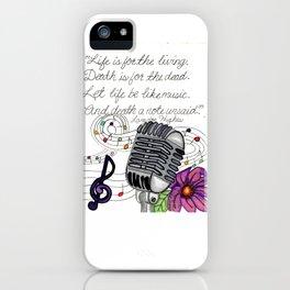 Making Music iPhone Case