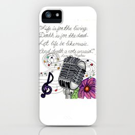 Making Music iPhone Case