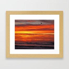 Dawn in Brigantine Framed Art Print