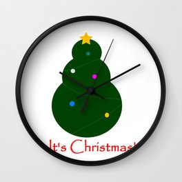 It´s Christmas! Wall Clock