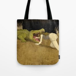 In The Mouth Of Madness Tote Bag