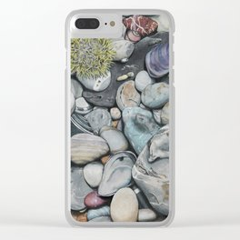 Beach4 Clear iPhone Case
