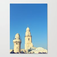 spires Canvas Prints featuring Spires by Jacob Kannel