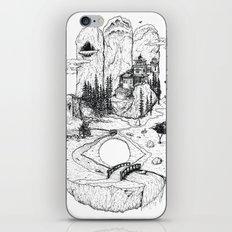 Hamsa in Nature iPhone & iPod Skin