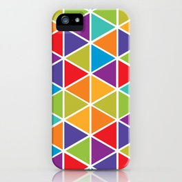 Abstract Triangle 2 iPhone Case
