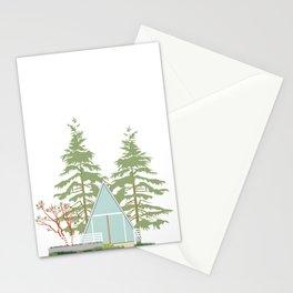 A (frame) Cozy Retreat Stationery Cards