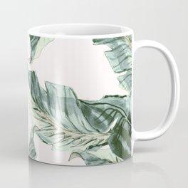 Tropical Banana Leaves Coffee Mug