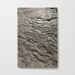 Layers of Desert Floor Metal Print