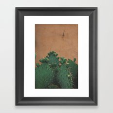 Route 66 Prickly Pears Framed Art Print