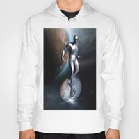 silver Hoodies featuring SILVER by Scofield Designs
