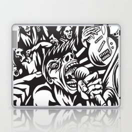 Illustration of Rock Concert Laptop & iPad Skin