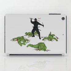 The Real Ninja Part 1 iPad Case