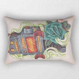 Retro Robot Rectangular Pillow