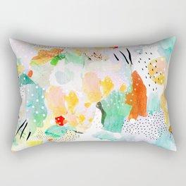 toto: abstract painting Rectangular Pillow