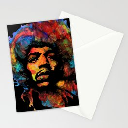 Hendrix - Vibrations Lines Stationery Cards