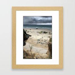 Gwithian Beach Framed Art Print