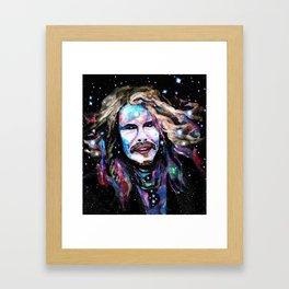 Steven Tyler Psychedelic - Rockstar Collection Framed Art Print