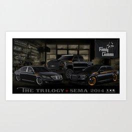 The Trilogy Art Print