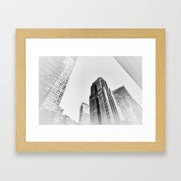 New York cj Framed Art Print
