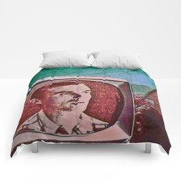 A Talking Head Comforters