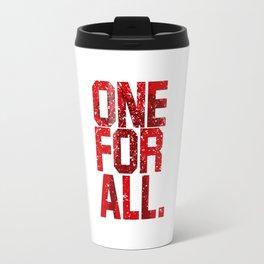 one for all Travel Mug