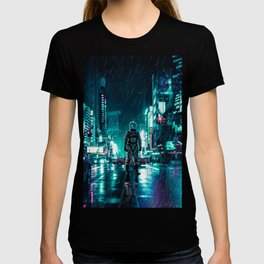 Another Rainy Night ( The Continuous Tale Of The Lost Astronauta) T-Shirt